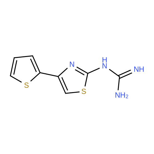 1-(4-(Thiophen-2-yl)thiazol-2-yl)guanidine