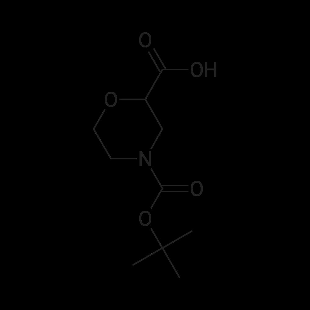 N-Boc-Morpholine-2-carboxylic acid