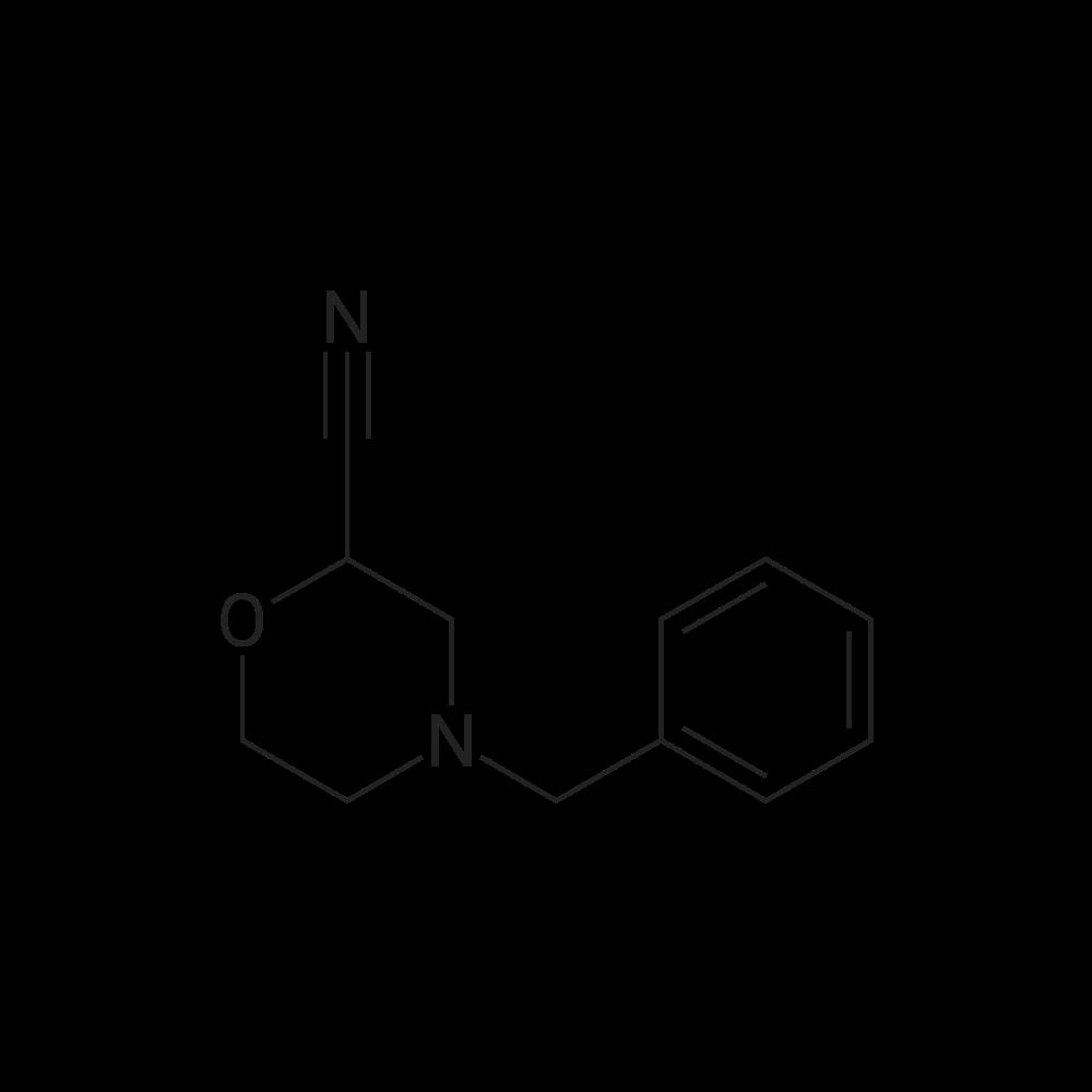 4-Benzylmorpholine-2-carbonitrile