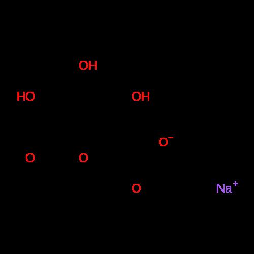 Sodium (2S,3S,4S,5R,6R)-3,4,5-trihydroxy-6-methoxytetrahydro-2H-pyran-2-carboxylate