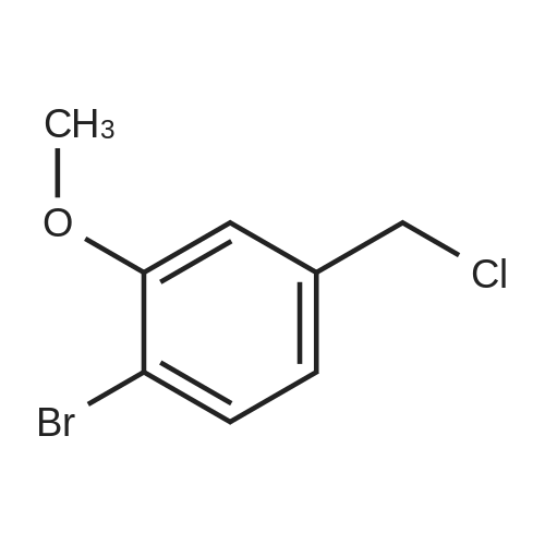1-Bromo-4-(chloromethyl)-2-methoxybenzene