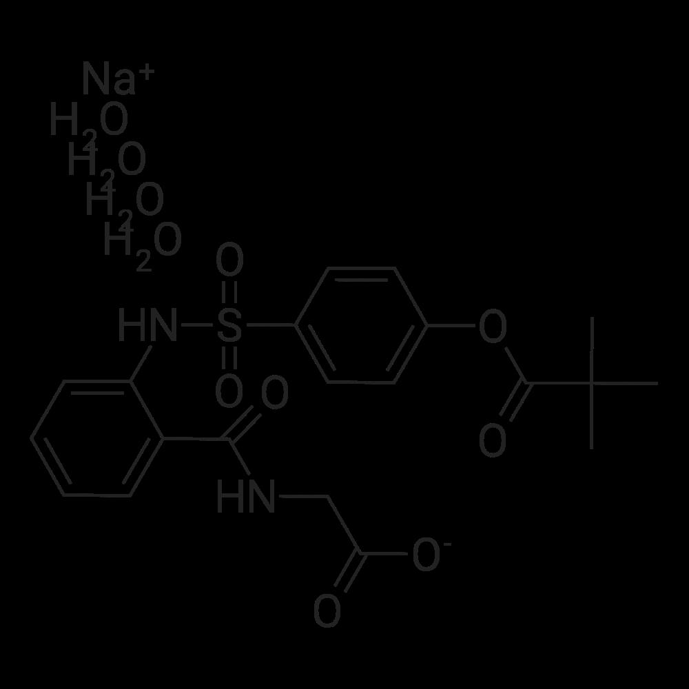 Sivelestat sodium tetrahydrate