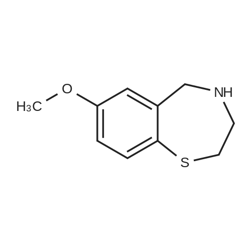 7-Methoxy-2,3,4,5-tetrahydrobenzo[f][1,4]thiazepine