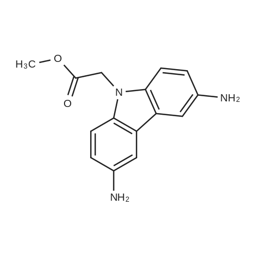 Methyl 2-(3,6-diamino-9H-carbazol-9-yl)acetate