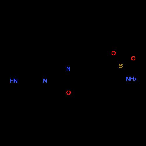 2-(Piperazin-1-yl)benzo[d]oxazole-5-sulfonamide