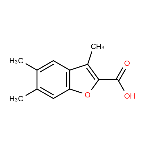 3,5,6-Trimethylbenzofuran-2-carboxylic acid