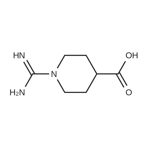 1-Carbamimidoylpiperidine-4-carboxylic acid