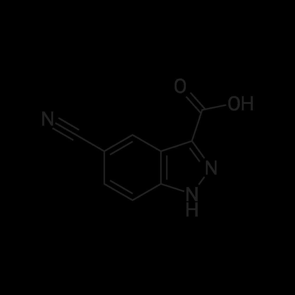 5-Cyano-1H-indazole-3-carboxylic acid