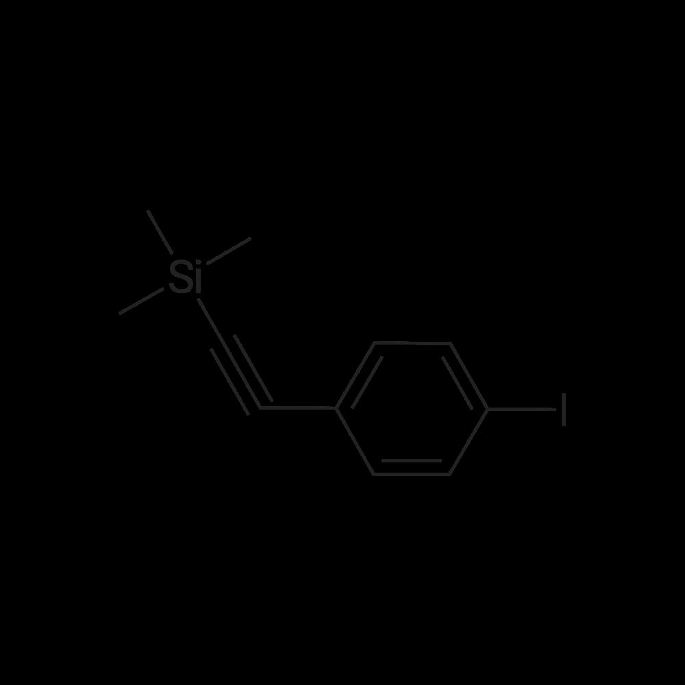 ((4-Iodophenyl)ethynyl)trimethylsilane