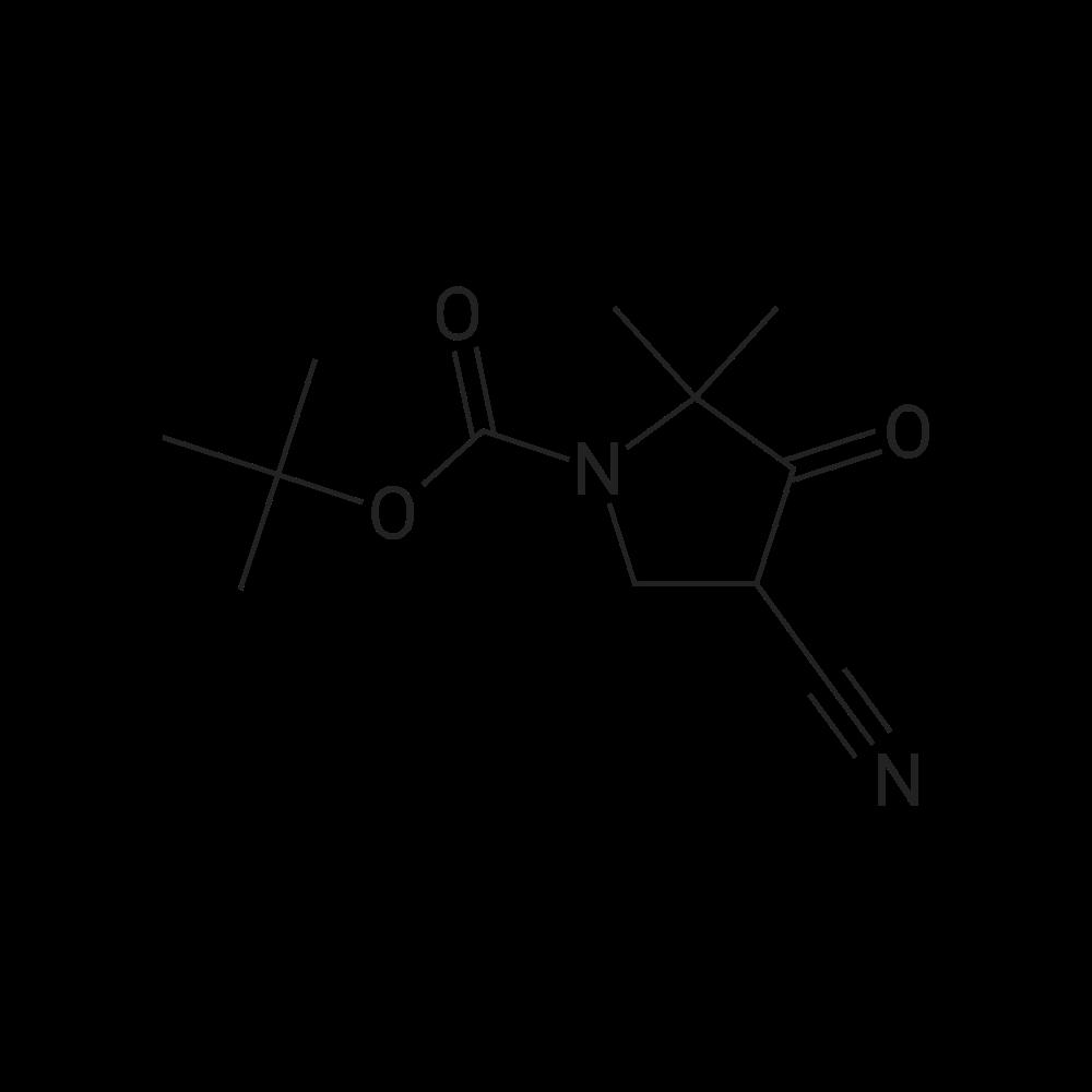tert-Butyl 4-cyano-2,2-dimethyl-3-oxopyrrolidine-1-carboxylate