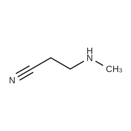 3-(Methylamino)propanenitrile