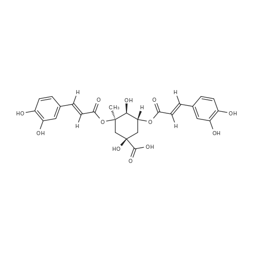 3,5-Di-O-caffeoylquinic acid