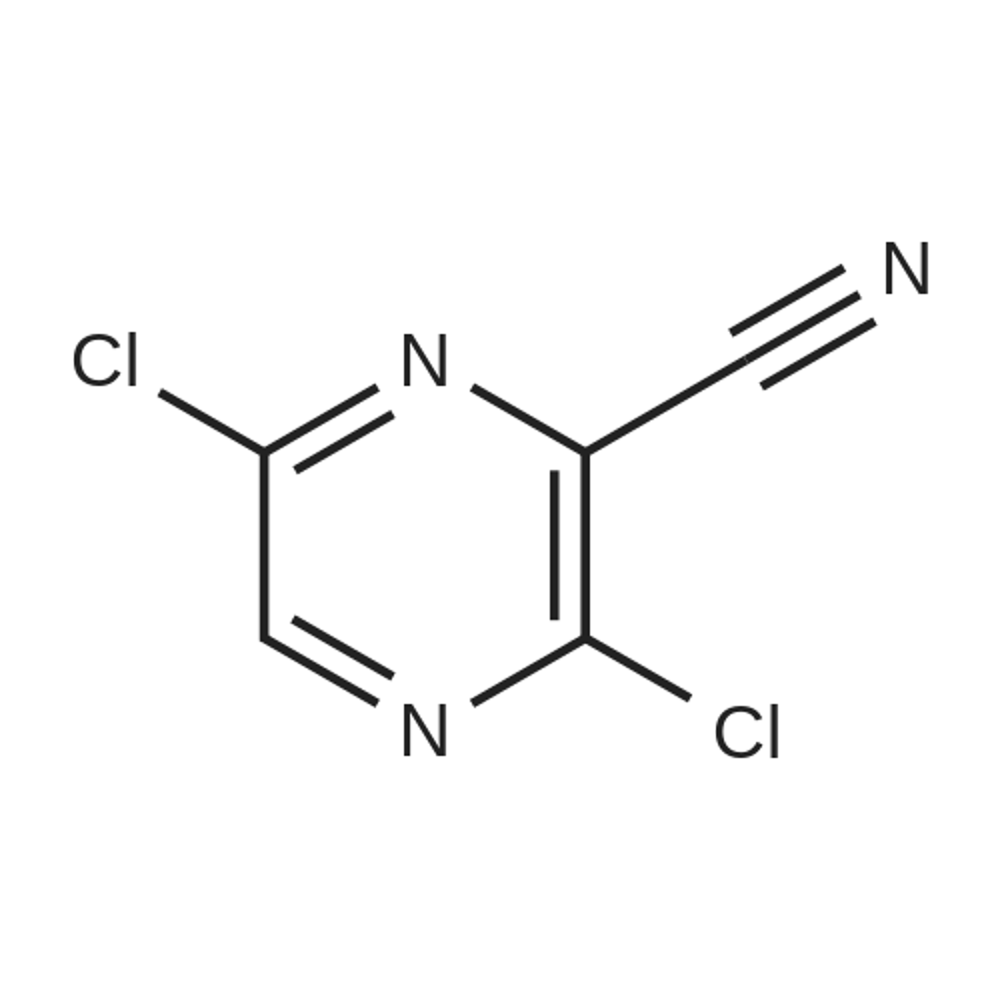 3,6-Dichloropyrazine-2-carbonitrile