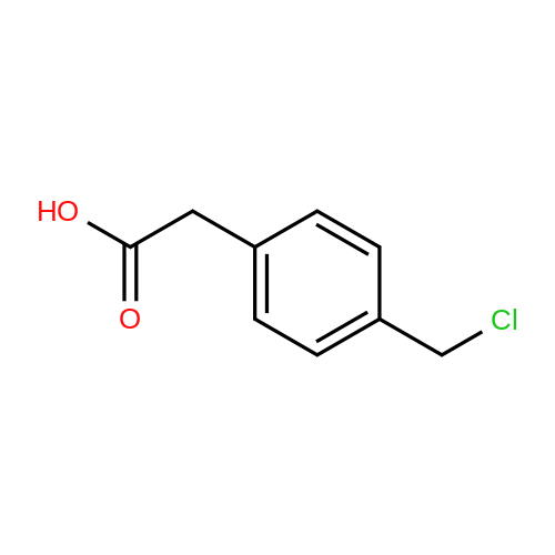 4-(Chloromethyl)phenylacetic Acid