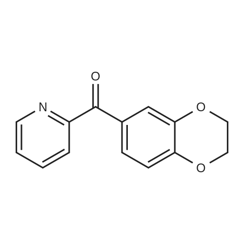 (2,3-Dihydrobenzo[b][1,4]dioxin-6-yl)(pyridin-2-yl)methanone