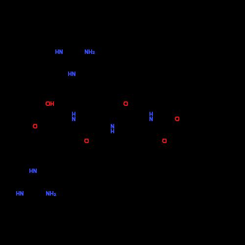 Benzyl ((S)-1-(((S)-5-guanidino-1-(((S)-5-guanidino-1-((4-methoxynaphthalen-2-yl)amino)-1-oxopentan-2-yl)amino)-1-oxopentan-2-yl)amino)-1-oxopropan-2-yl)carbamate