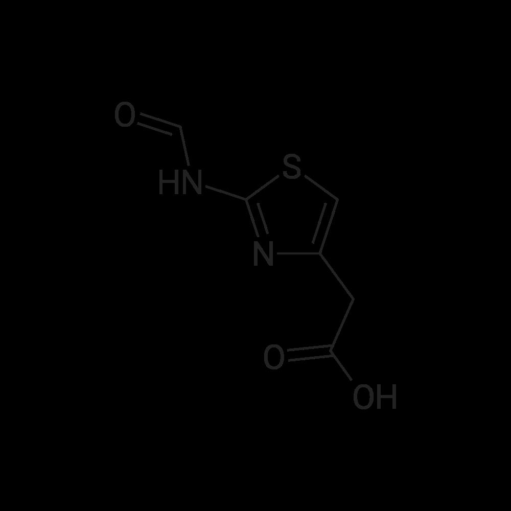 2-(2-Formamidothiazol-4-yl)acetic acid
