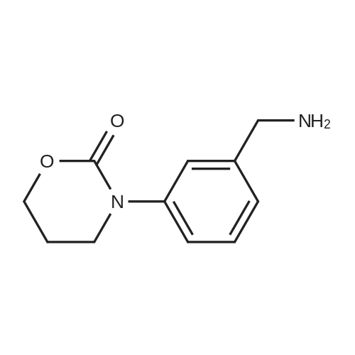 3-(3-(Aminomethyl)phenyl)-1,3-oxazinan-2-one