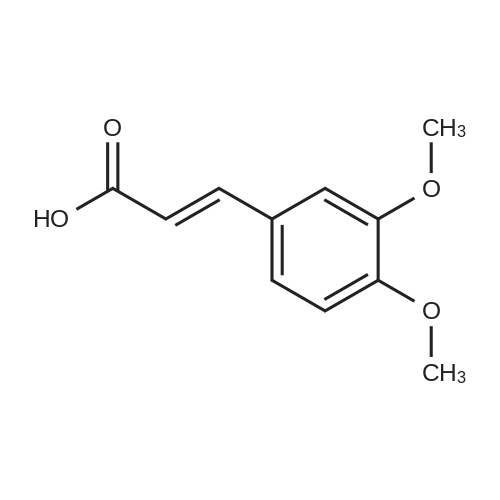 (E)-3-(3,4-Dimethoxyphenyl)acrylic acid