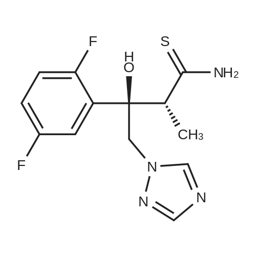 (2R,3R)-3-(2,5-Difluorophenyl)-3-hydroxy-2-methyl-4-(1H-1,2,4-triazol-1-yl)butanethioamide