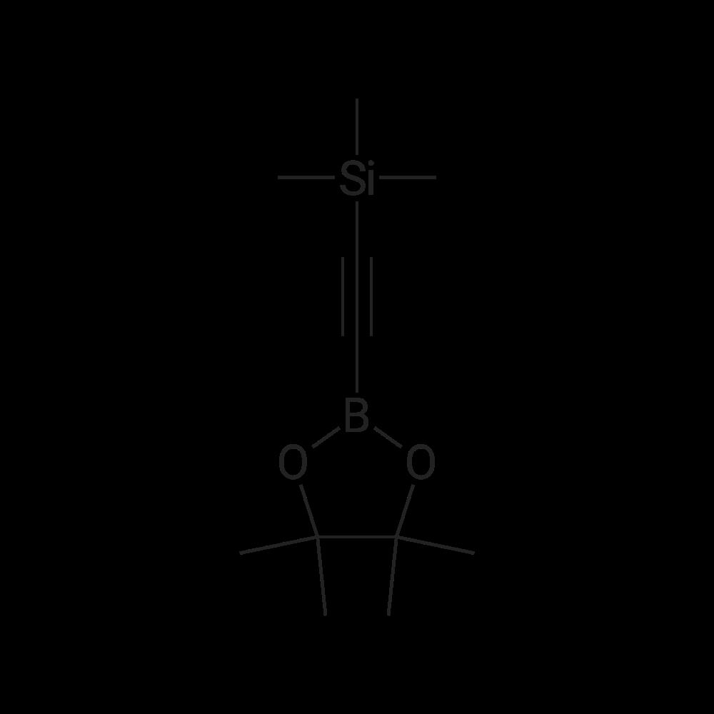 Trimethyl((4,4,5,5-tetramethyl-1,3,2-dioxaborolan-2-yl)ethynyl)silane