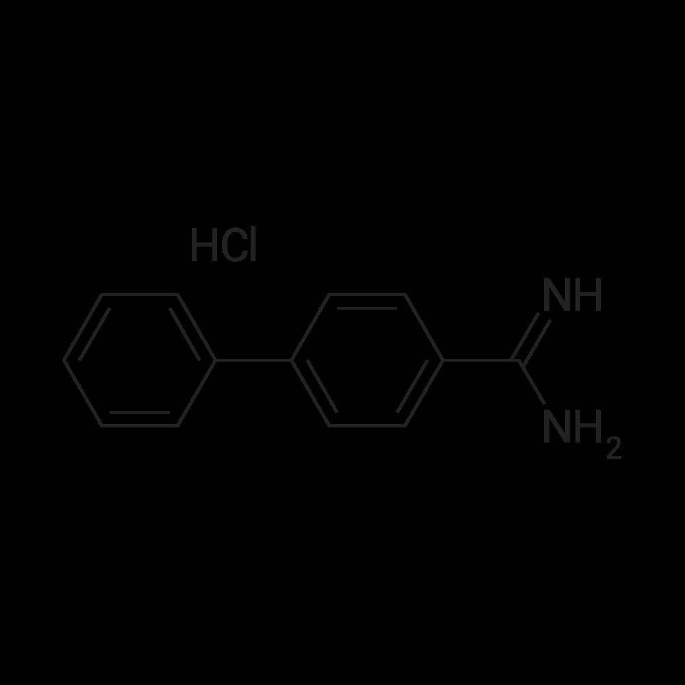 [1,1'-Biphenyl]-4-carboximidamide hydrochloride