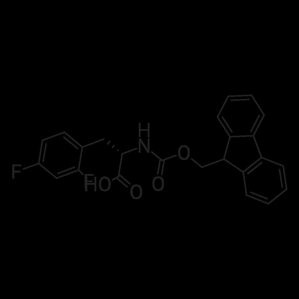 (S)-2-((((9H-Fluoren-9-yl)methoxy)carbonyl)amino)-3-(2,4-difluorophenyl)propanoic acid