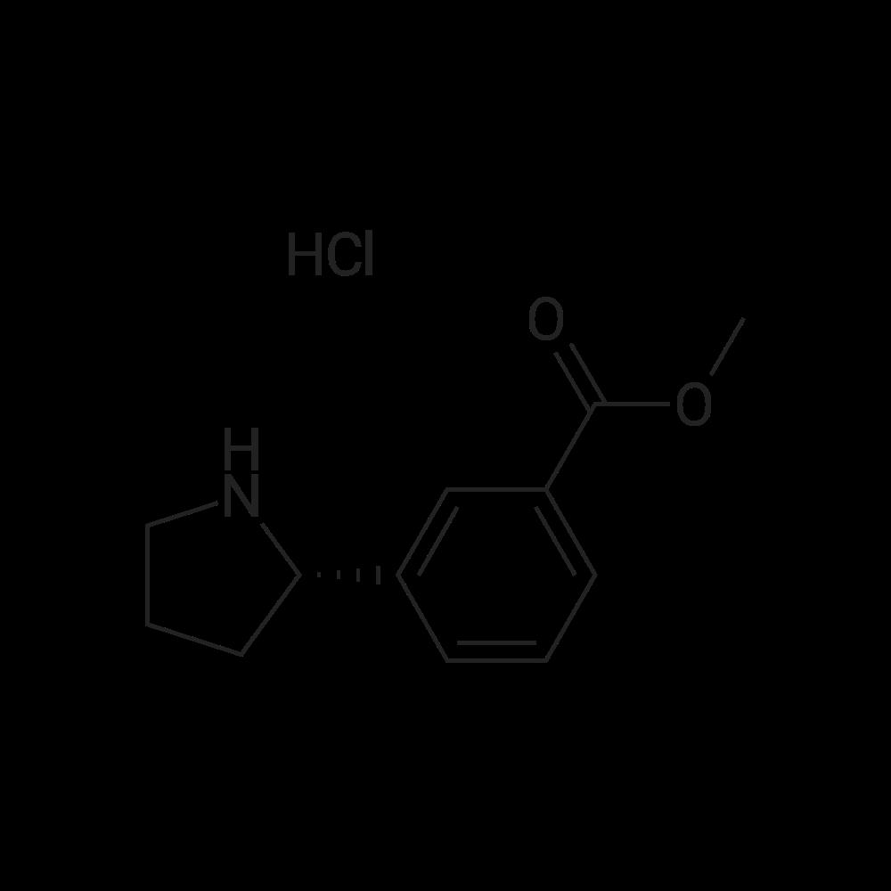 (S)-Methyl 3-(pyrrolidin-2-yl)benzoate hydrochloride