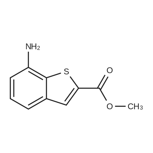 Methyl 7-aminobenzo[b]thiophene-2-carboxylate