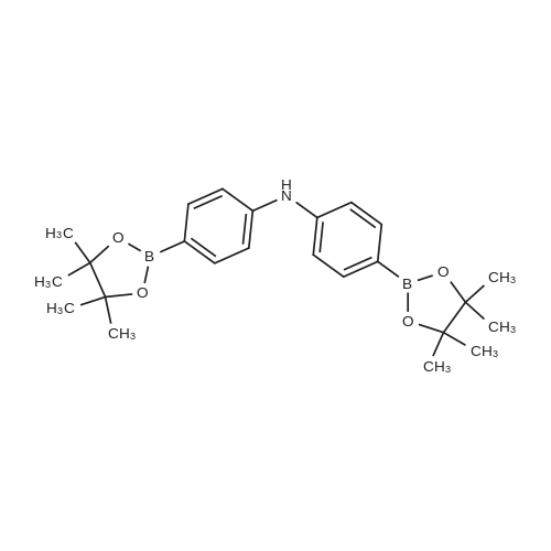 Bis(4-(4,4,5,5-tetramethyl-1,3,2-dioxaborolan-2-yl)phenyl)amine