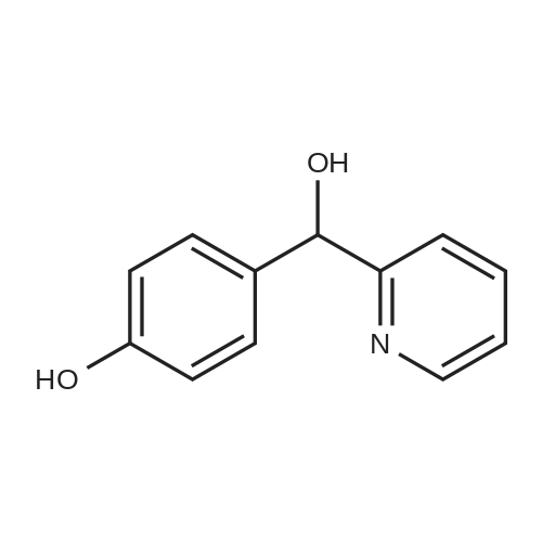 4-(Hydroxy(pyridin-2-yl)methyl)phenol