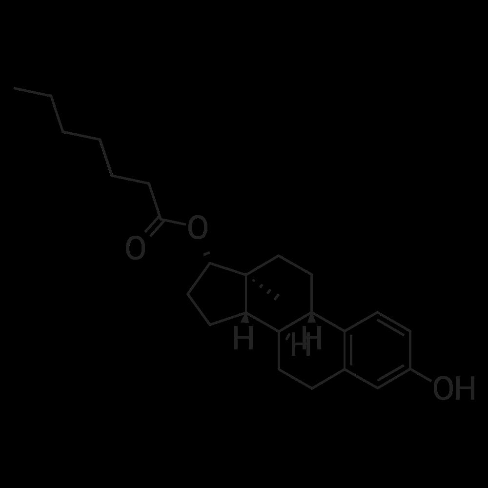 Oestradiol 17-heptanoate