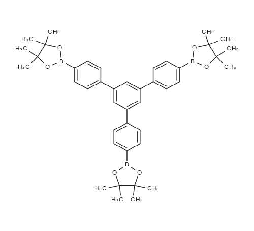 2,2'-(5'-(4-(4,4,5,5-Tetramethyl-1,3,2-dioxaborolan-2-yl)phenyl)-[1,1':3',1''-terphenyl]-4,4''-diyl)bis(4,4,5,5-tetramethyl-1,3,2-dioxaborolane)
