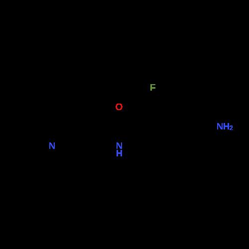 4-Amino-2-fluoro-N-(1-methylpiperidin-4-yl)benzamide