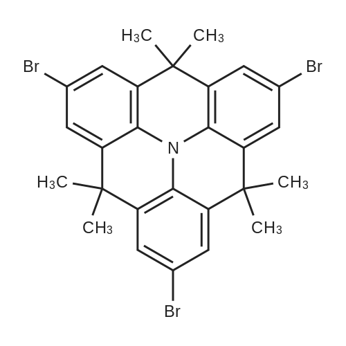 4H,8H,12H-Benzo[1,9]quinolizino[3,4,5,6,7-defg]acridine, 2,6,10-tribromo-4,4,8,8,12,12-hexamethyl-