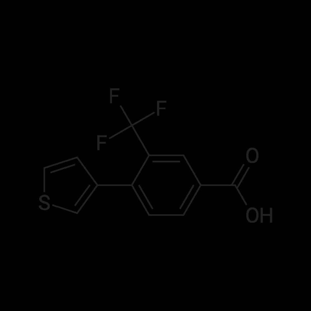 4-(Thiophen-3-yl)-3-(trifluoromethyl)benzoic acid