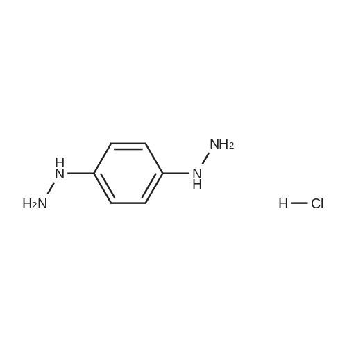 1,4-Dihydrazinylbenzene hydrochloride