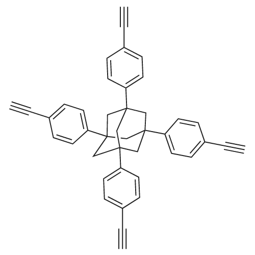 1,3,5,7-Tetrakis(4-ethynylphenyl)adamantane