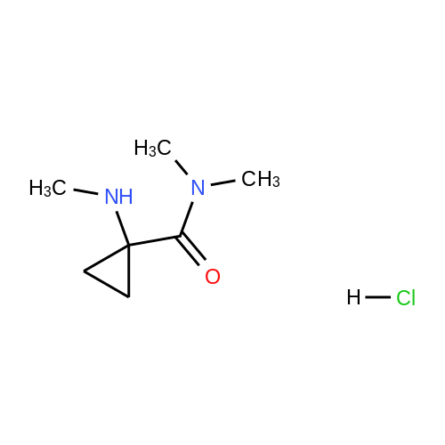 N,N-Dimethyl-1-(methylamino)cyclopropane-1-carboxamide hydrochloride