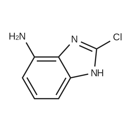 2-Chloro-1H-benzo[d]imidazol-4-amine
