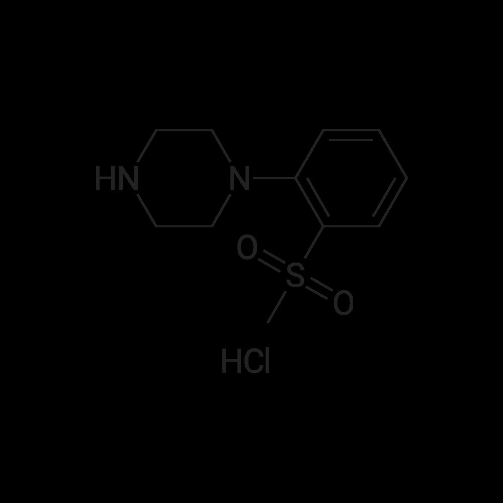 1-(2-(Methylsulfonyl)phenyl)piperazine hydrochloride