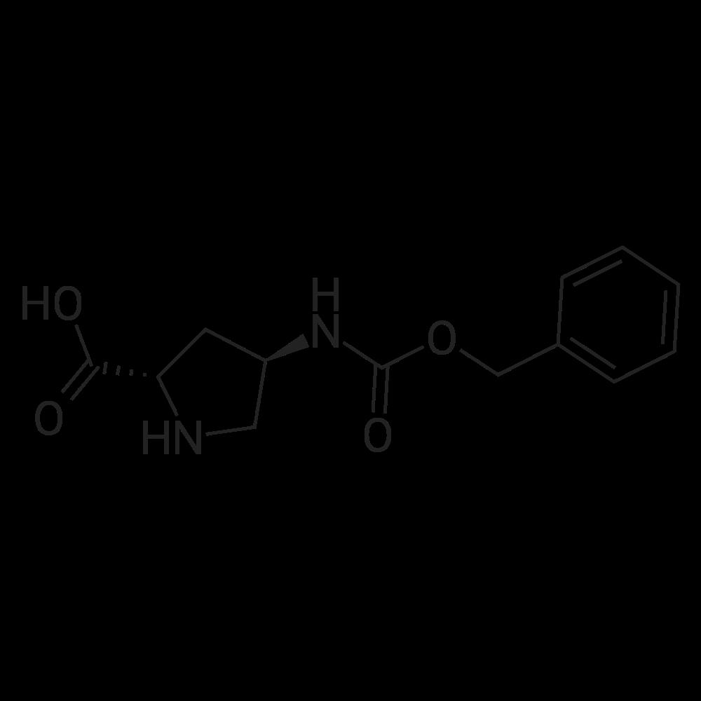 (2S,4R)-4-(((Benzyloxy)carbonyl)amino)pyrrolidine-2-carboxylic acid