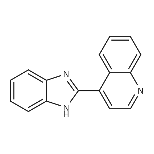 4-(1H-Benzo[d]imidazol-2-yl)quinoline