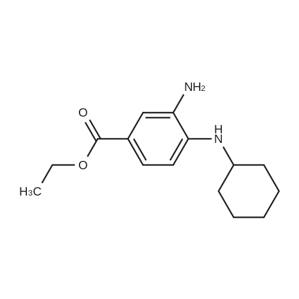 Ethyl 3-amino-4-(cyclohexylamino)benzoate