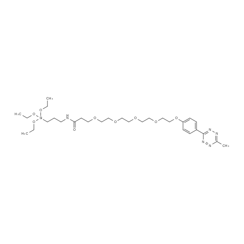 1-(4-(6-Methyl-1,2,4,5-tetrazin-3-yl)phenoxy)-N-(3-(triethoxysilyl)propyl)-3,6,9,12-tetraoxapentadecan-15-amide