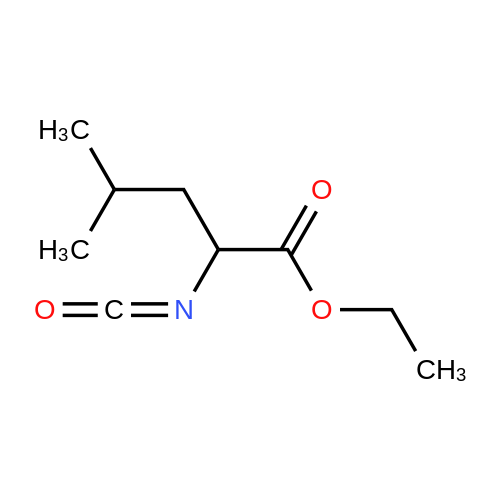 Ethyl 2-isocyanato-4-methylpentanoate