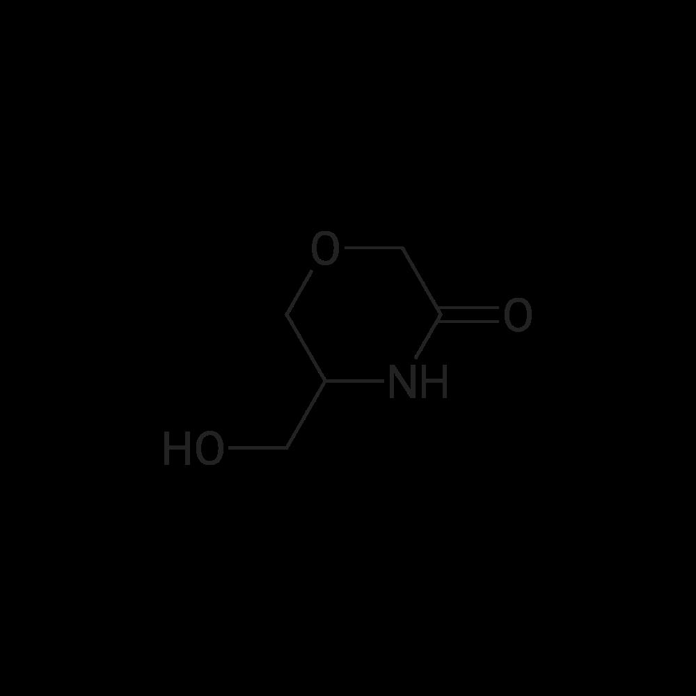 5-(Hydroxymethyl)morpholin-3-one