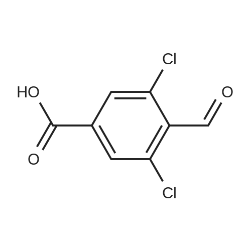 3,5-Dichloro-4-formylbenzoic acid