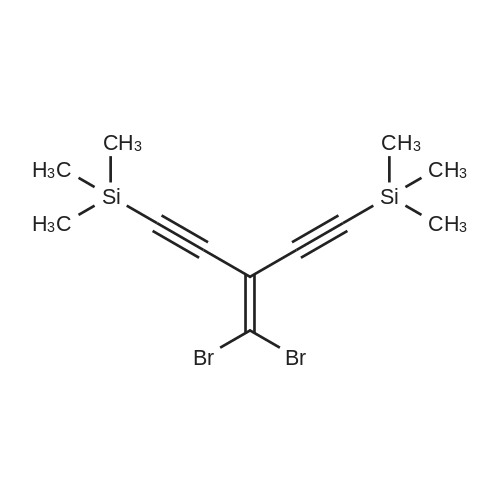 (3-(Dibromomethylene)penta-1,4-diyne-1,5-diyl)bis(trimethylsilane)