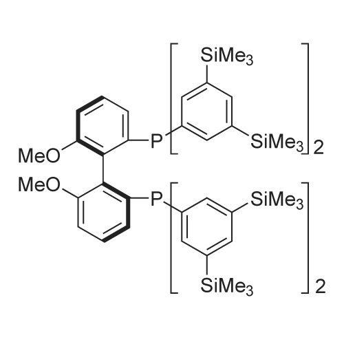 (S)-(6,6'-Dimethoxy-[1,1'-biphenyl]-2,2'-diyl)bis(bis(3,5-bis(trimethylsilyl)phenyl)phosphine)